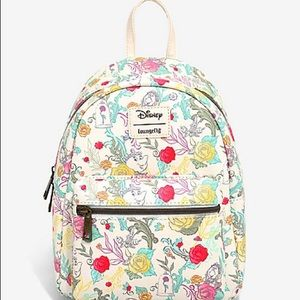 Loungefly Beauty and the Beast Mini backpack